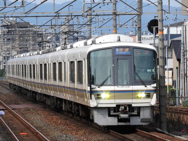 221系快速姫路行き茨木入線