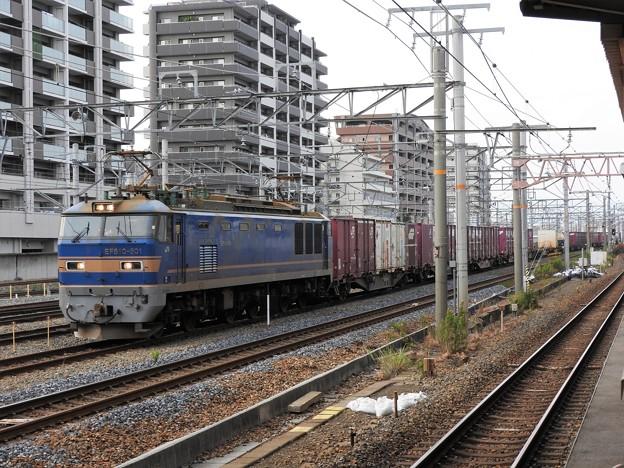 EF510-501号機牽引4076レ