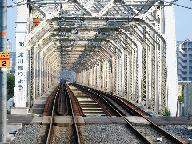 おおさか東線(城東貨物線)淀川橋梁