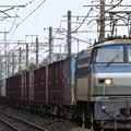 EF66 124号機牽引4093レ