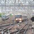 Photos: 尼崎駅から神戸・宝塚方面を望む