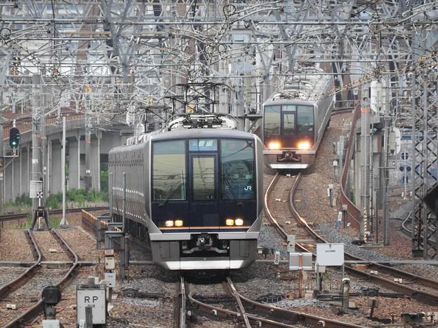 JR神戸線・宝塚線尼崎入線