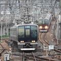 Photos: JR神戸線・宝塚線尼崎入線