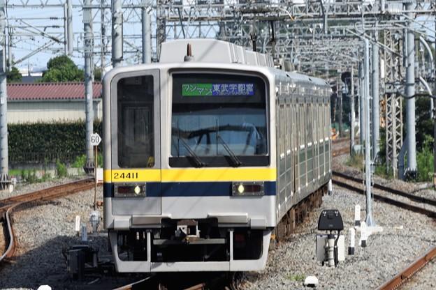 東武20400型東武宇都宮行き南栗橋入線