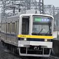 東武南栗橋行き大雨の栃木入線