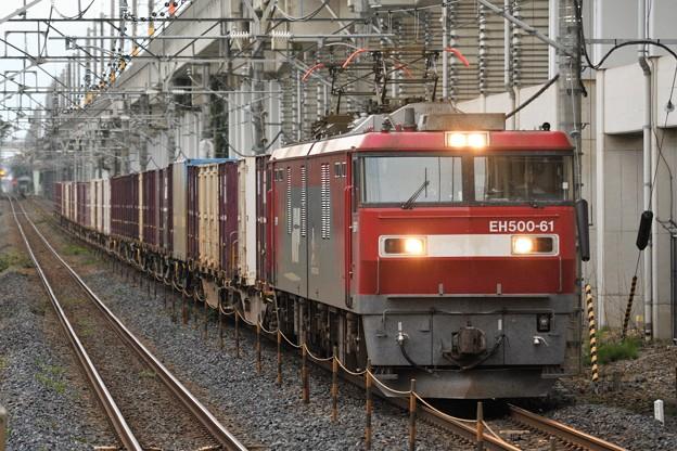 EH500-61号機牽引4088レ