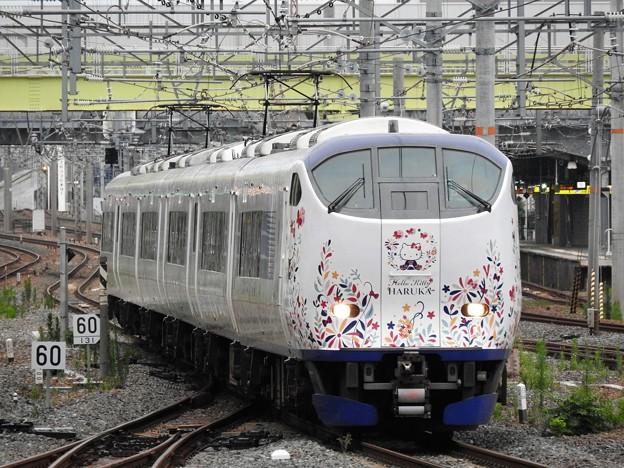 はるか47号新大阪入線