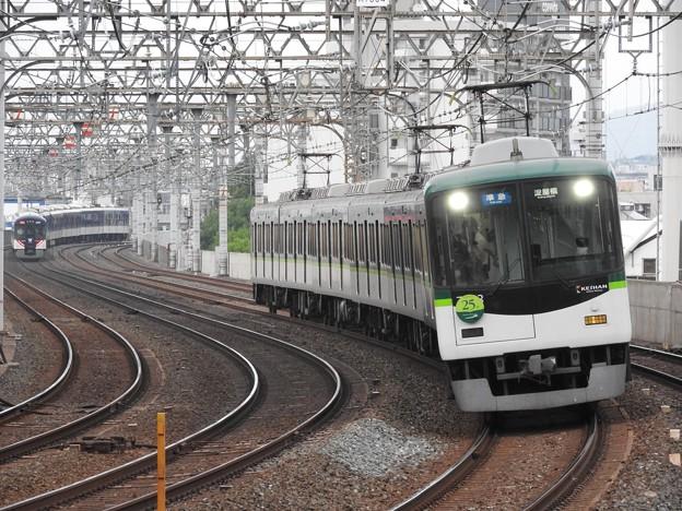 京阪7200系25周年HM付き