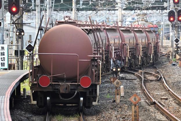 EH500-23 + タキ1200安中貨物大宮11番発車