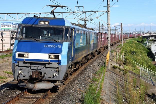 EH200-15牽引89レ武蔵野線吉川通過