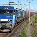 Photos: EH200-15牽引89レ武蔵野線吉川通過