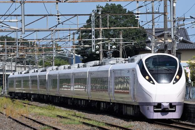 E657系特急ひたち14号友部1番通過
