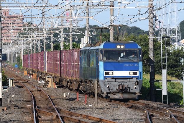 EH200-15牽引89レ武蔵野線東浦和通過
