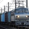 Photos: EF66 111牽引4093レ東北線96kmポスト通過