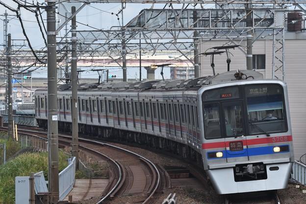 京成3700形特急京成上野行き
