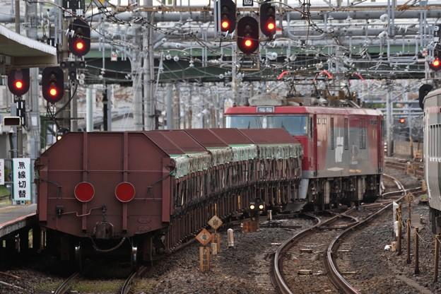 安中貨物5097レ大宮11番発車