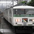 185系特急踊り子3号川崎入線