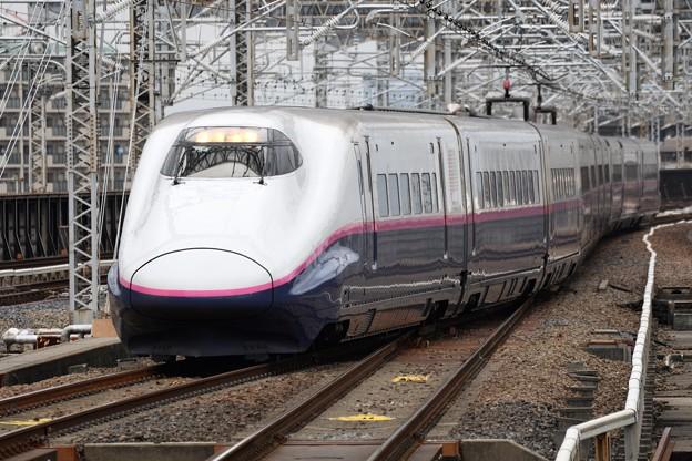 E2系とき370号大宮15番入線