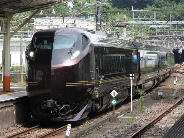 E655系「和(なごみ)」団臨熱海2番入線