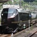 Photos: E655系「和(なごみ)」団臨熱海2番入線