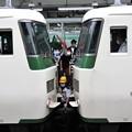 Photos: 踊り子号熱海駅での分割作業