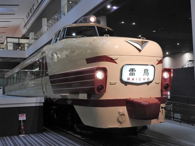 懐かしのボンネット型特急485系