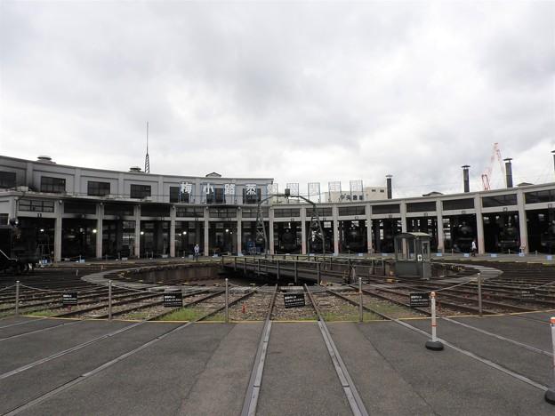 梅小路蒸気機関車庫