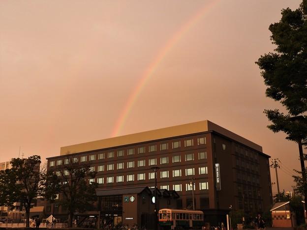 Photos: 夕暮れの虹