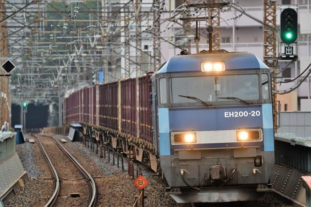 EH200-20号機牽引89レ