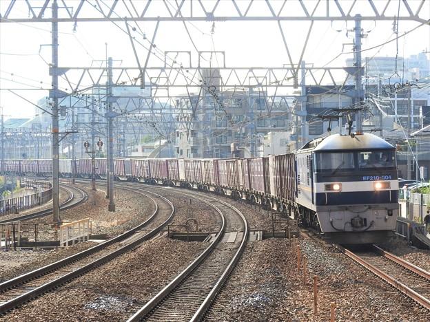 Photos: EF210 304号機牽引2070レ