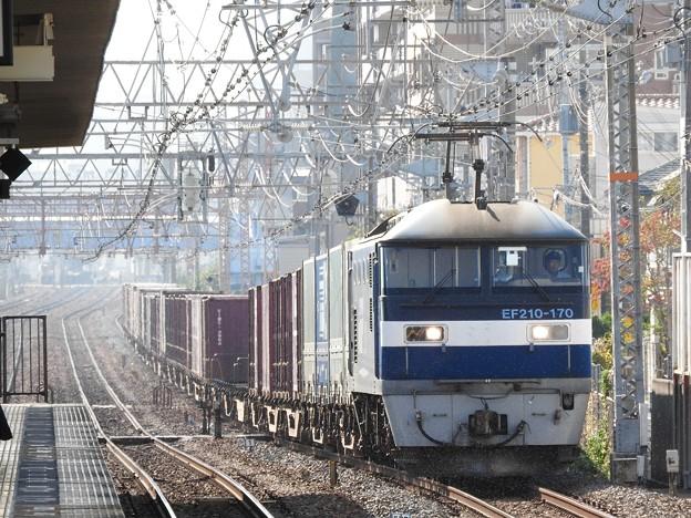 Photos: EF210 170号機牽引1052レ