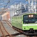おおさか東線201系久宝寺行き