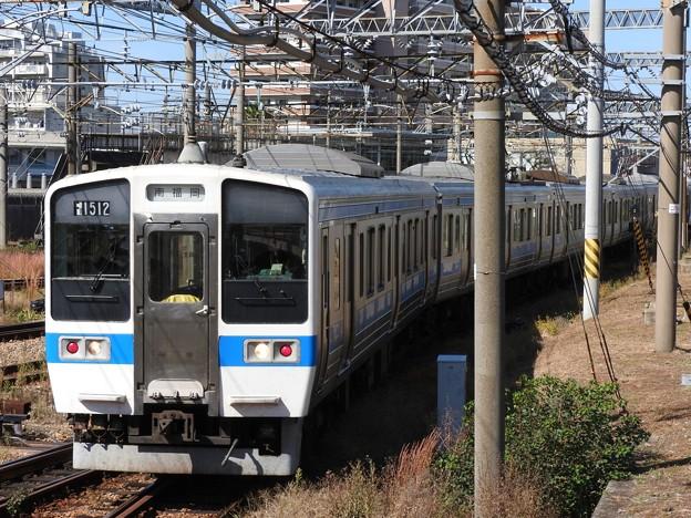 415系1500番台南福岡車両区構内入換え