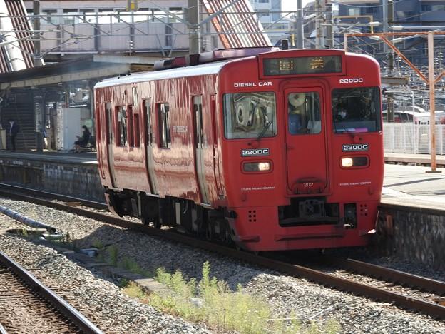 キハ220形回送南福岡通過