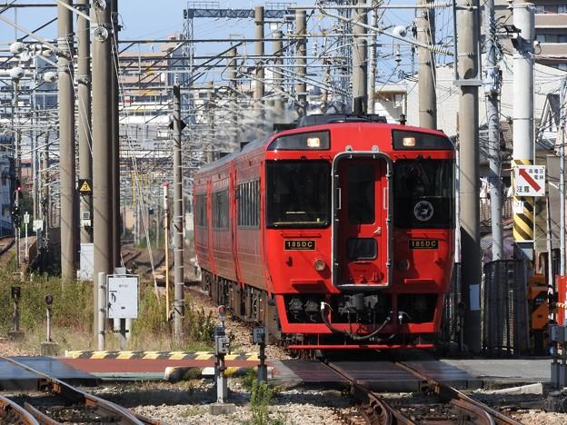 キハ185系特急ゆふ3号南福岡通過