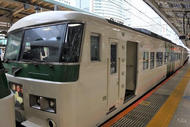 185系併結C2編成踊り子9号修善寺行き