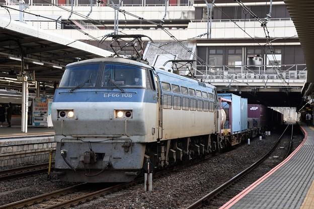 EF66 -108号機牽引4093レ大宮10番通過