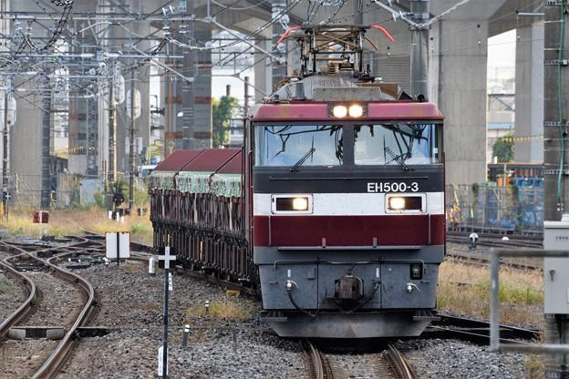 Photos: 金太郎3号機牽引安中貨物大宮11番入線