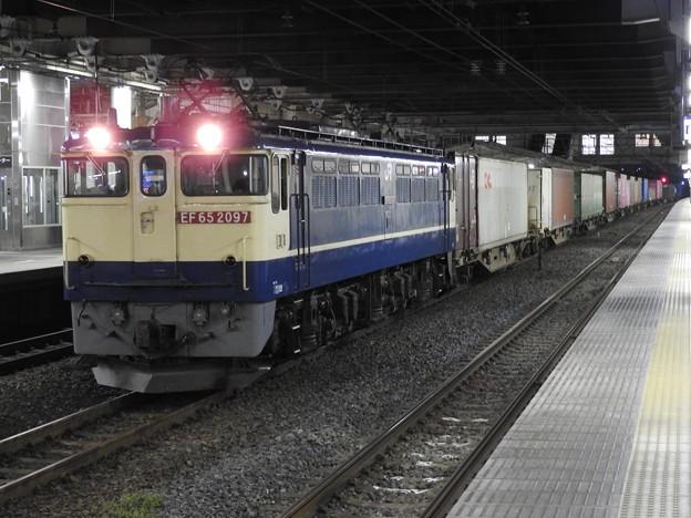 EF65 2097号機牽引4073レ