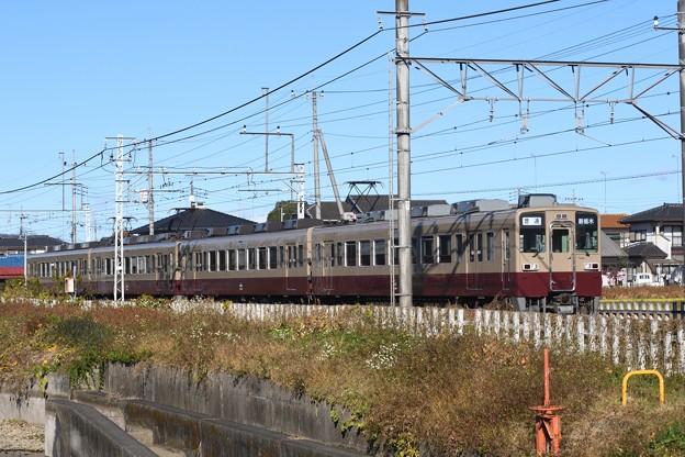 東武6050型リバイバル編成新栃木行き
