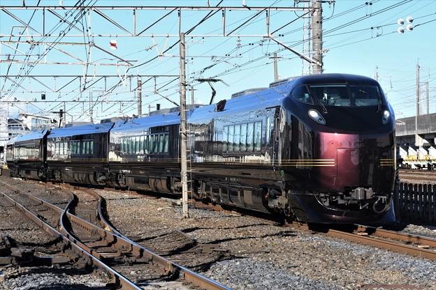 Photos: E655系「和(なごみ)」回送雀宮2番発車