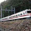 Photos: 杉並木を行く東武350型回送