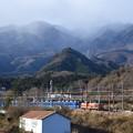 冬間近の東武日光にDE10プッシュプル