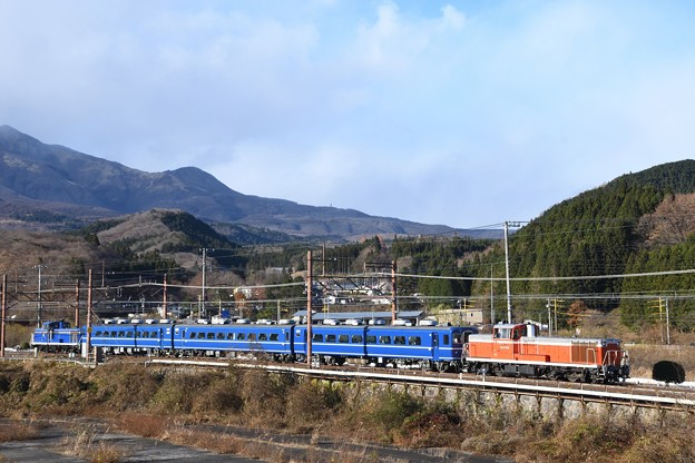 東武DE10 1099+1109プッシュプル