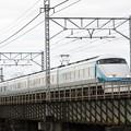 Photos: 思川橋梁を渡るスペーシアきぬがわ6号