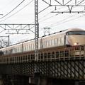 思川橋梁を渡る特急けごん36号