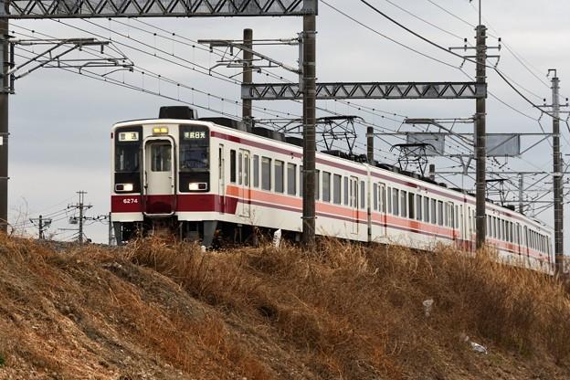 東武6050型東武日光行き