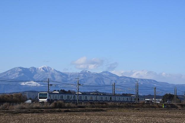 高原山とE531系東北線送込み回送