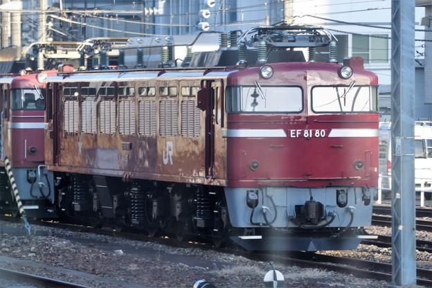 水戸駅常駐EF81 80号機
