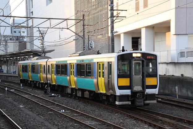 キハE130系常陸太田行き